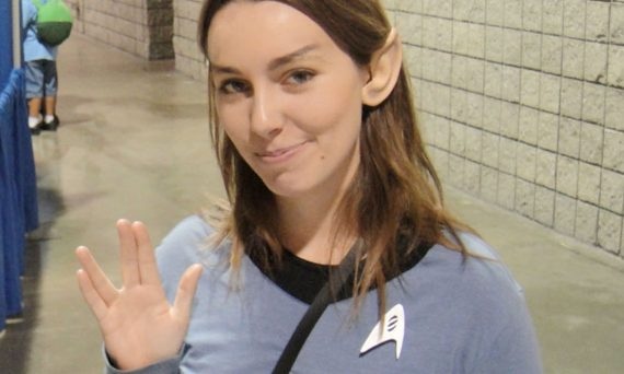 female star trek fan