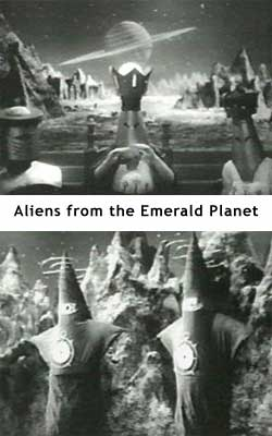 Aliens from the Emerald Planet