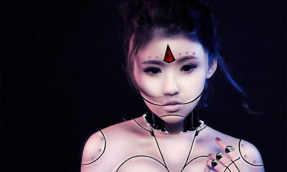 cyberpunk asian girl