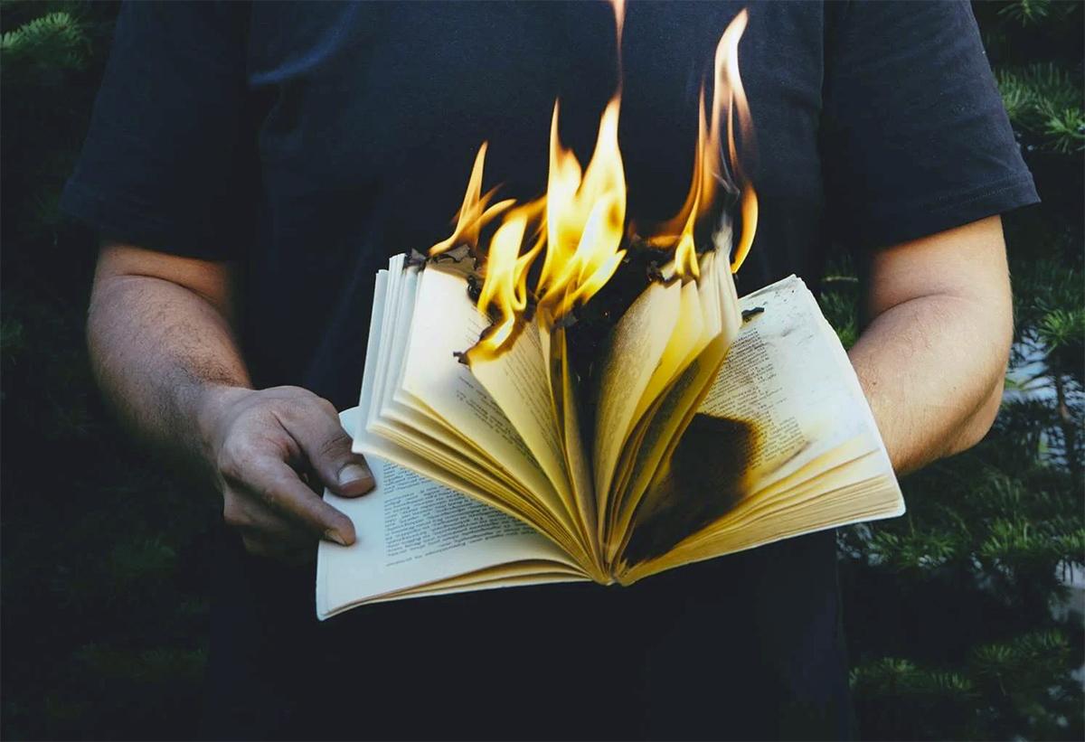 banned books are often burned